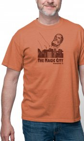 Magic City on Men's Short Sleeve Tee