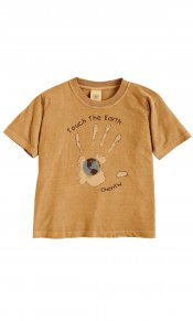 Touch the Earth on Toddler/Youth Organic Tee