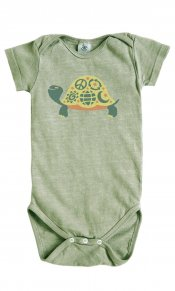 Eco Turtle on Hemp Snappie