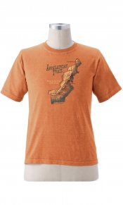 Appalachian Trail Map on Men's Short Sleeve Tee