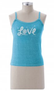 Love Flower on Tank Top