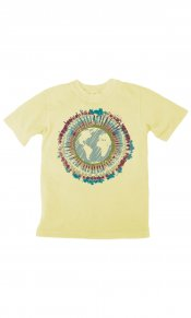 Tie Dye Earth on Toddler/Youth Organic Tee