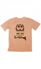 Eco Owl on Toddler/Youth Organic Tee
