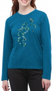 Ginkgo on Long Sleeve Top