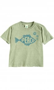 Peace Fish on Toddler/Youth Organic Tee