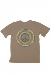Tie Dye Peace on Toddler/Youth Organic Tee