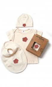 Flower Layette Set