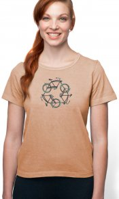 ReCycle on Organic Cotton Ladies Tee