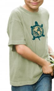Turtle Earth on Toddler/Youth Organic Tee
