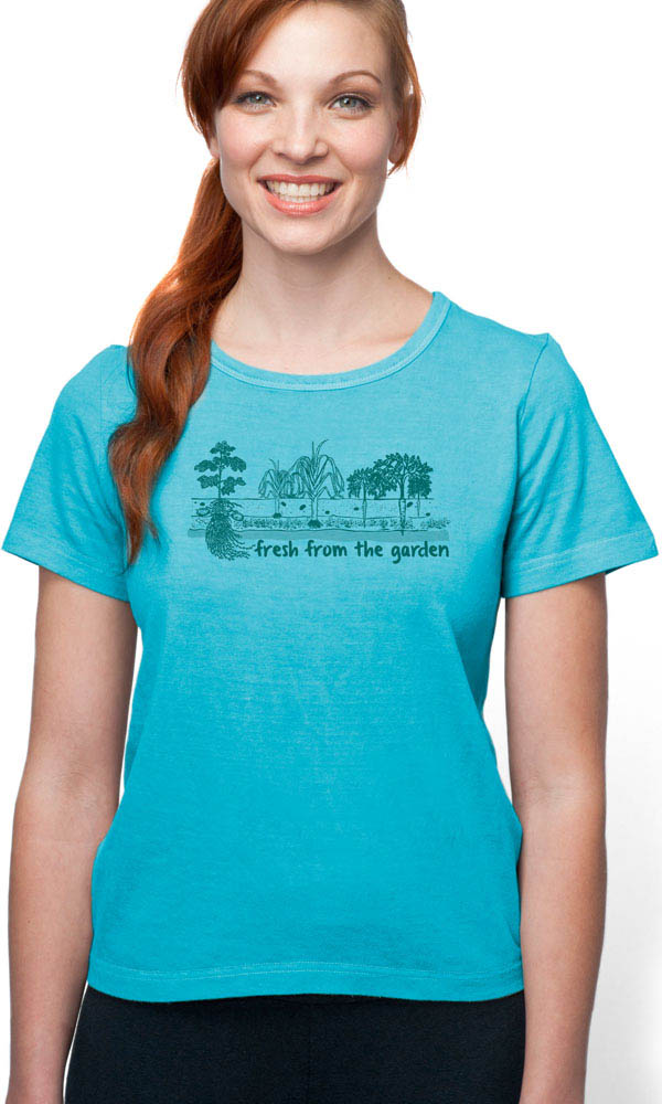 Grow Your Own on Organic Cotton Ladies Tee