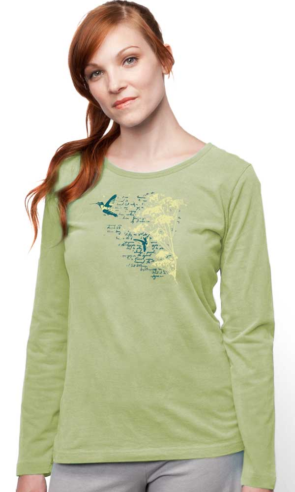 Bird Diary Ladies L/S Tee