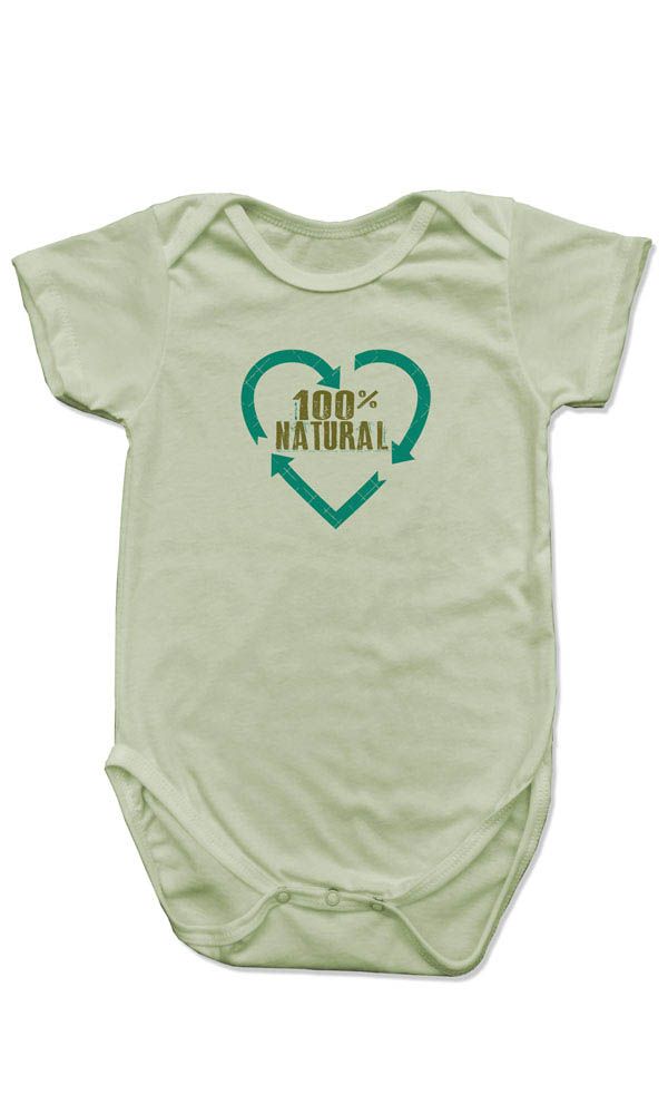 100% Natural on Organic Cotton Snappie