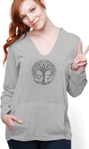 New Tree Pose on Harmony Hoody