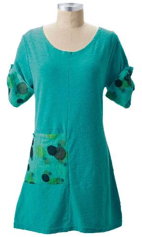 Alise Tunic with Polka Dot