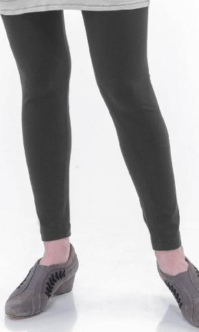 Textured Slub Leggings