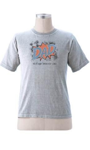 Dad Super Hero on Short Sleeve Tee