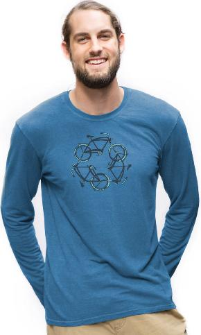ReCycle on Long Sleeve Tee