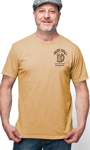 Drink Local Again on USA Made Men's Tee