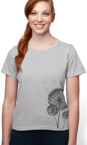 Three Wishes on Organic Cotton Ladies Tee