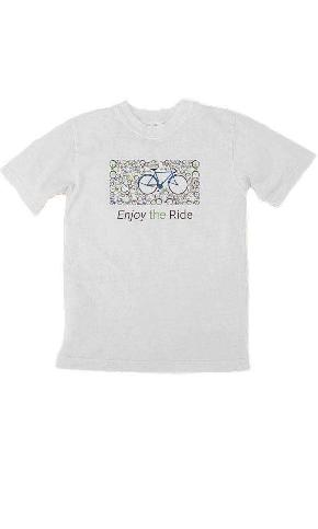 Enjoy the Ride on Toddler/Youth Organic Tee