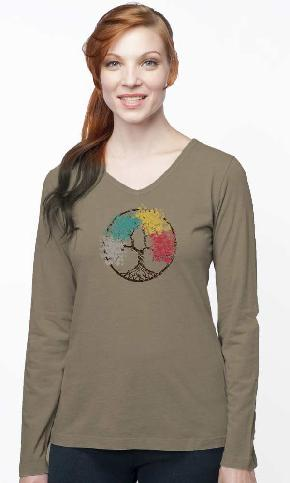 Four Seasons L/S V-Neck Tee